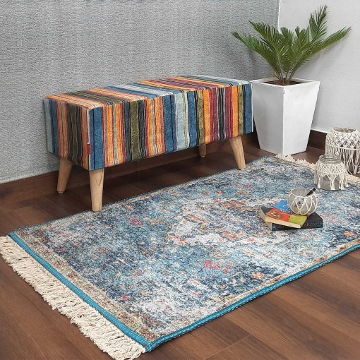 Silk Carpet Distressed  – Silk Premium Trendy Living Room Rug -Avioni