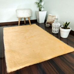 Soft Shaggy Rugs  – Fluffy Rug  –  Peach Premium Fur – Avioni Carpets