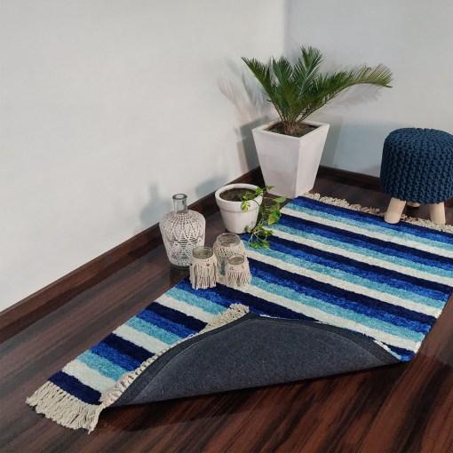 Avioni Carpets for Living Room – Neo Modern Collection Blue Carpet/Rug – 90cm x 150cm (~3×5 Feet)