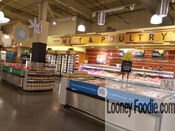 Whole Foods Market Meat and Poultry counter