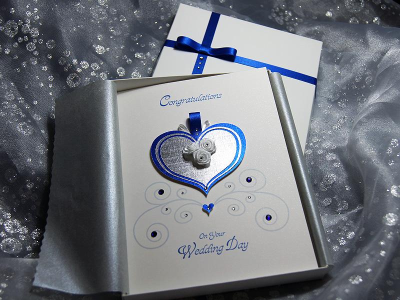 Cinderella Handmade Luxury Wedding Card