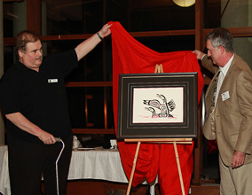 The LOONS Flyfishing Club :: Unveiling the 25th Anniversary Commemorative Art