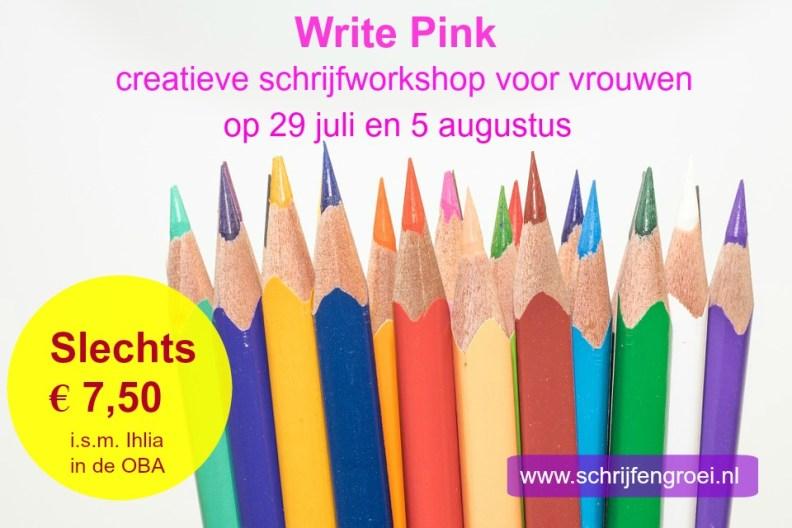 write pink tekst