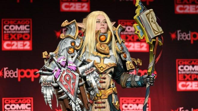 Blood Elf Priest cosplay
