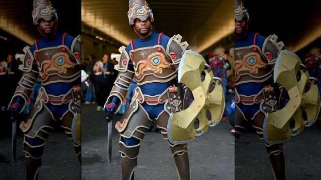 Link armor cosplay