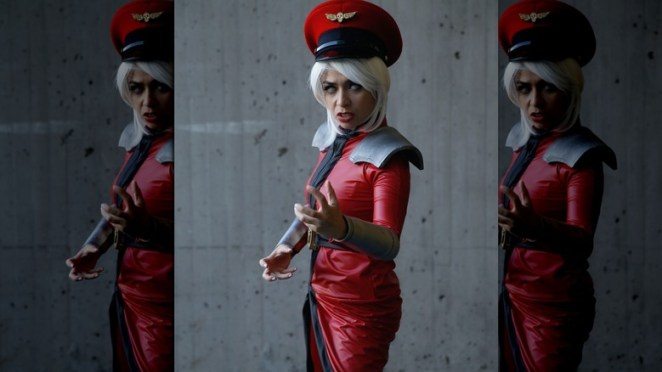 M. Bison eyes whited out