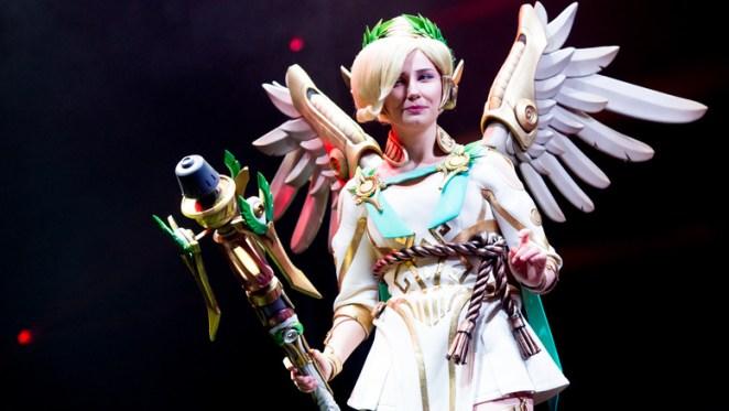 Effymia as Mercy