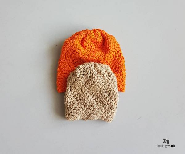 Easy Textured Baby Hat Free Beginner Crochet Pattern