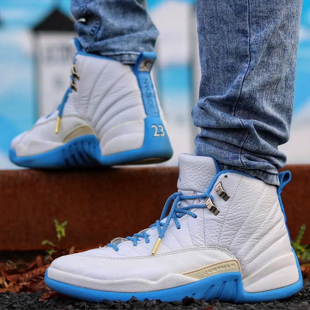 Jordan 12 Blue Grey Rope Shoelaces IMG3