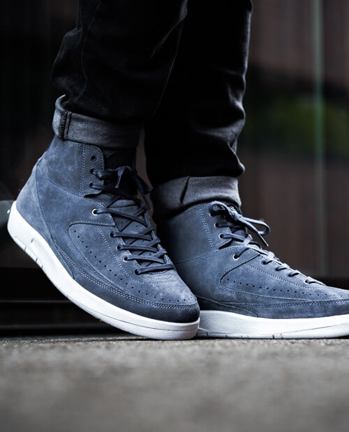 Jordan 2 thunder blue shoelaces