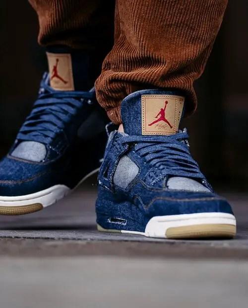 Nike Air Jordan 4 Shoelace Size Guide