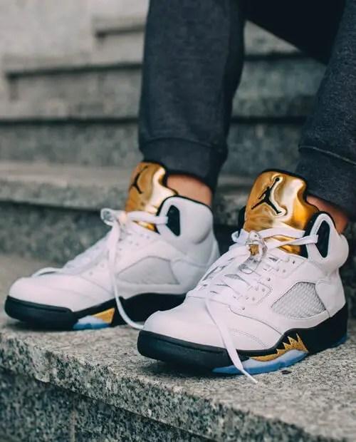 Jordan 5 gold