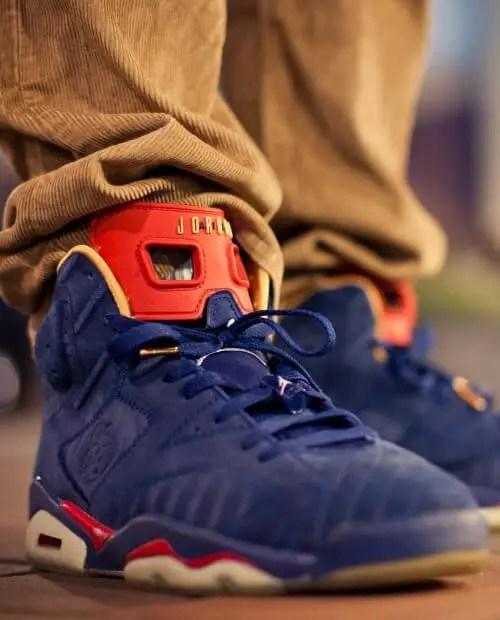 Nike Air Jordan 6 Shoelace Size Guide