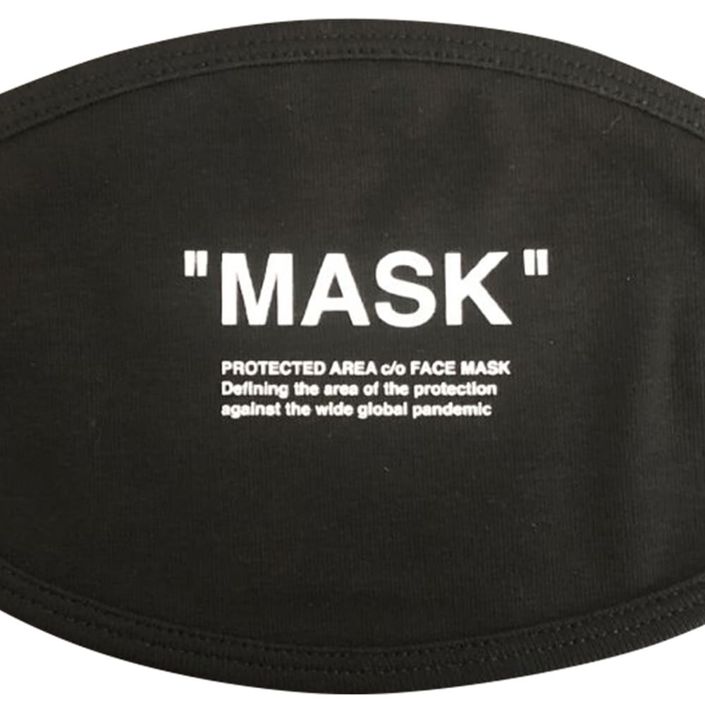 MASK Text Off White