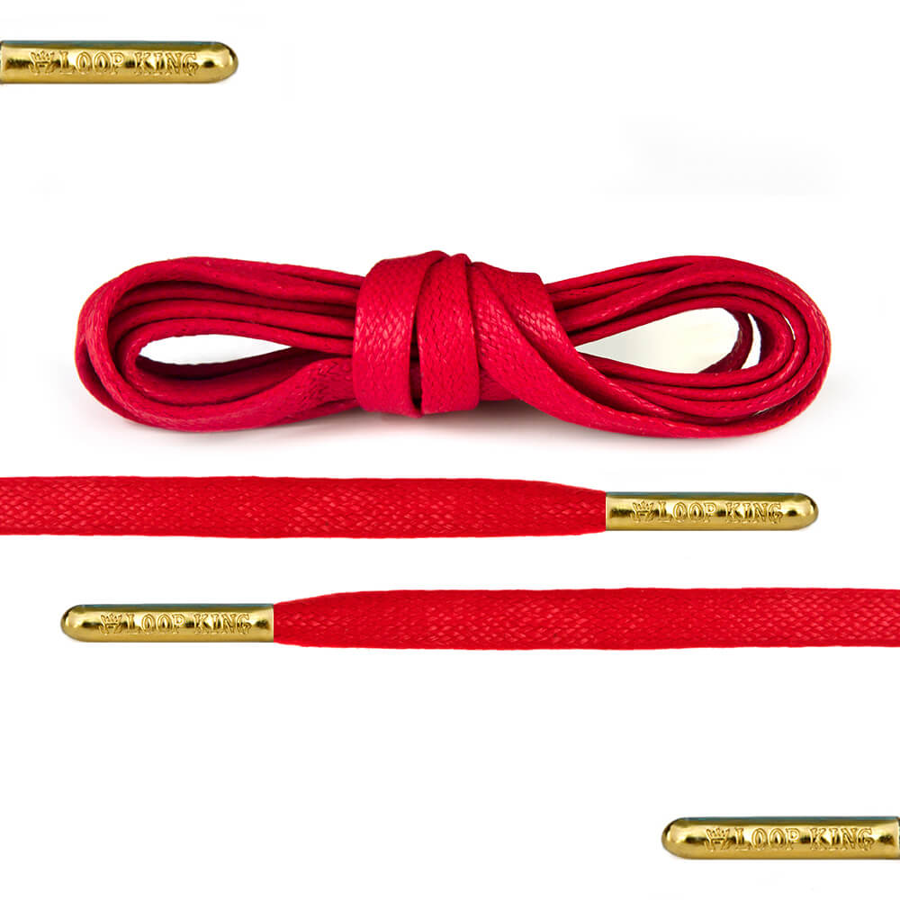 Shop Red Shoe Laces by Loop King
