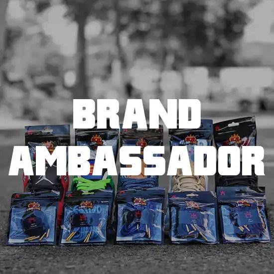 sneaker brand ambassador