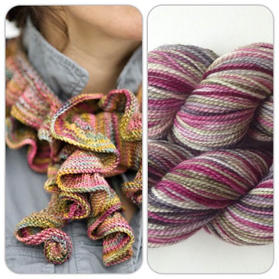 Barb's Koigu Ruffle by Churchmouse and Koigu KPPPM 311A