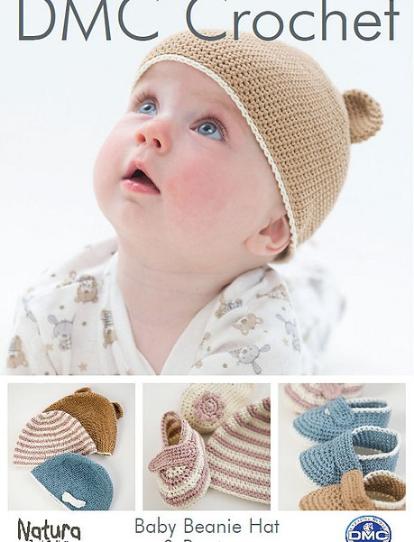 Baby Beanie Hat & Booties