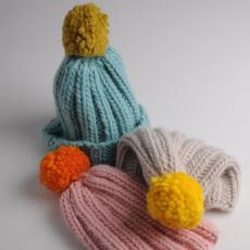 Simple Bobble Hat