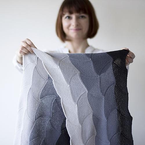 Asanagi Wrap by OlgaJazzy at Loop Knitting London