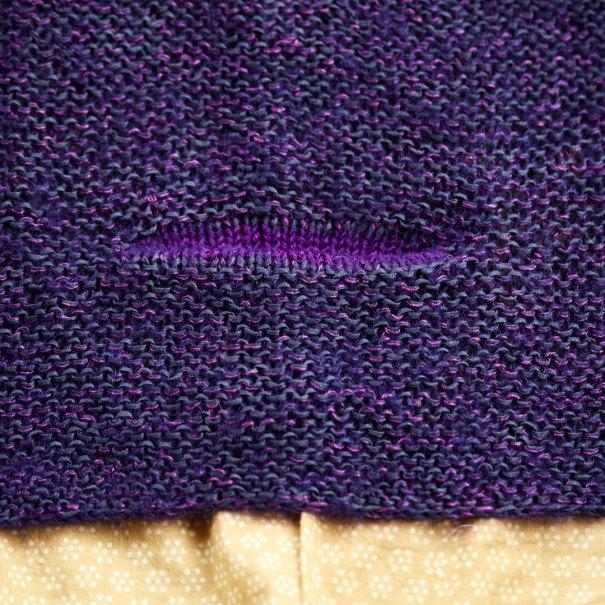 Blackberry Blink pocket detail at Loop London