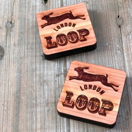 Cedar Blocks at Loop London