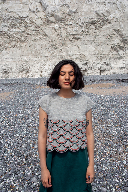 Eventide top by Inyoung Kim from Pom Pom issue 30