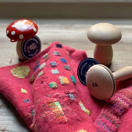 Hikaru's darning mushrooms at Loop London