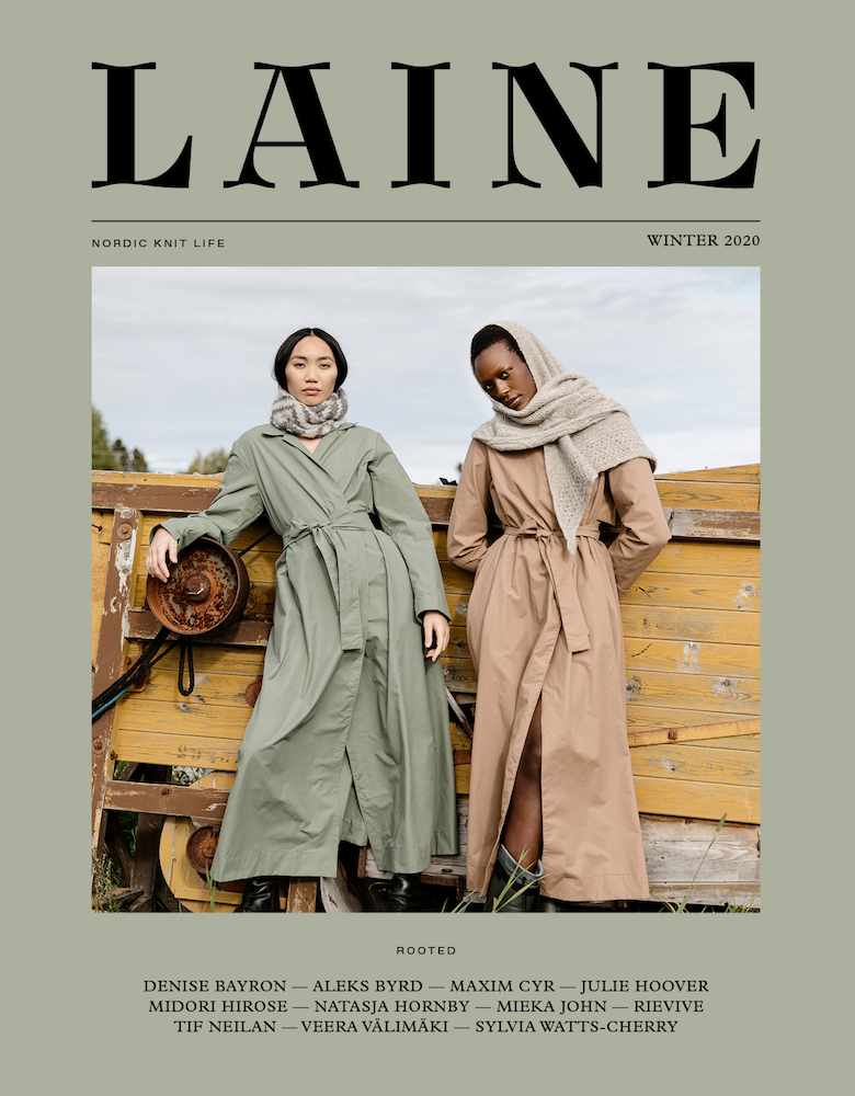 New Issue of Laine Magazine up close