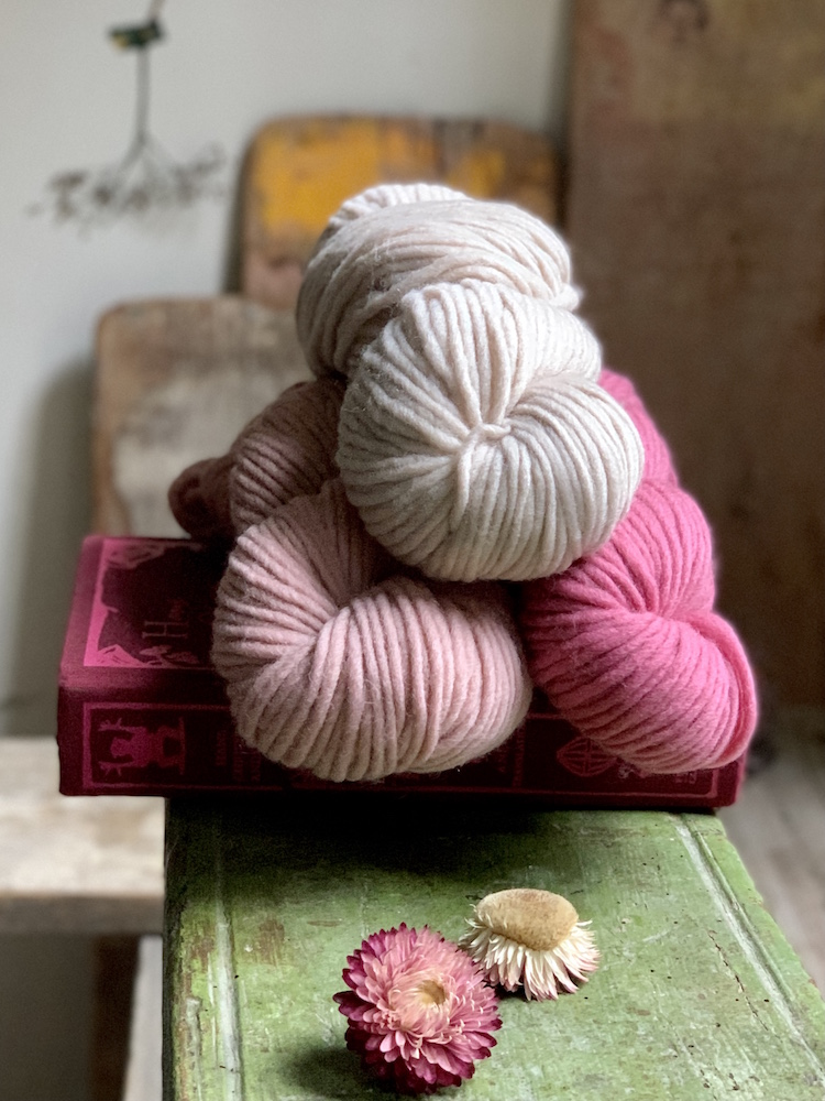 Quince &Co Puffin and chunky yarns for quick knits
