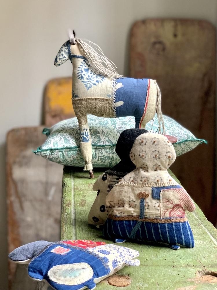 Textile treasures and a new shawl kit