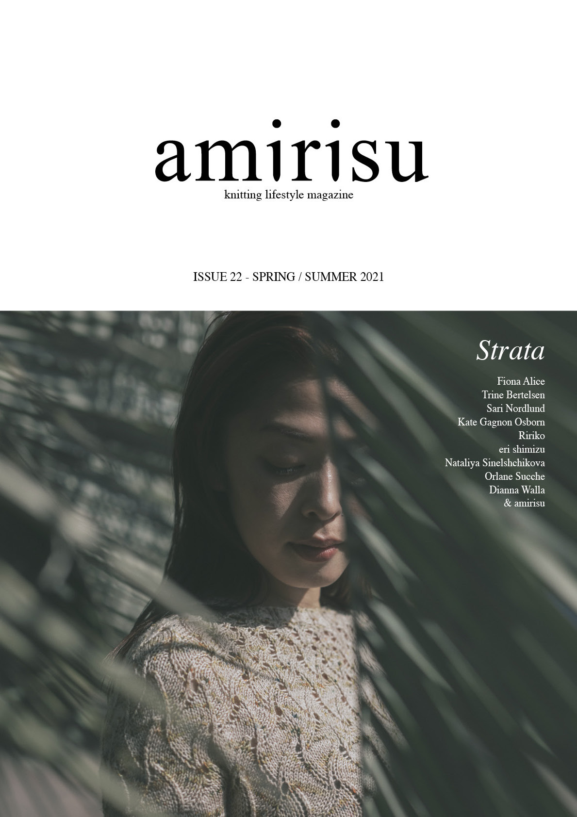 What to knit from the new issue of Amirisu
