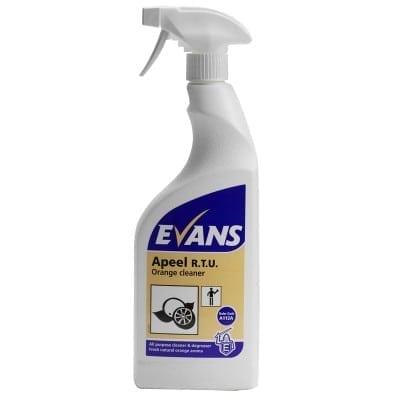 Evans - APEEL Multi Purpose Cleaner - 6 x 750ml Trigger