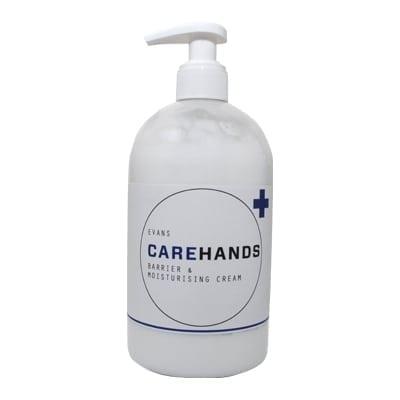 Evans - CAREHANDS Barrier & Moisturising Cream - 500ml