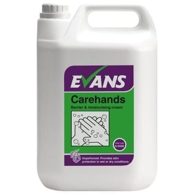 Evans - CAREHANDS Barrier & Moisturising Cream - 5 litre