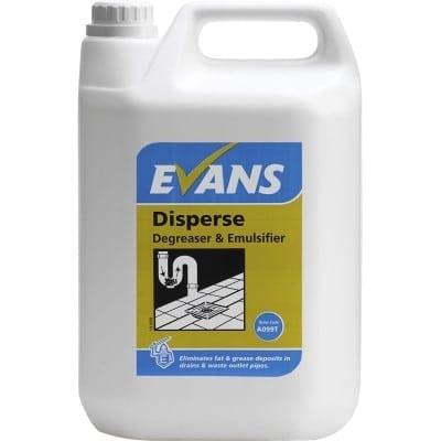 Evans - DISPERSE Degreaser & Emulsifier - 5 litre
