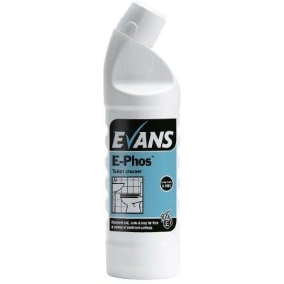 Evans - E-PHOS Multi Surface Acid Cleaner - 6 x 1 litre