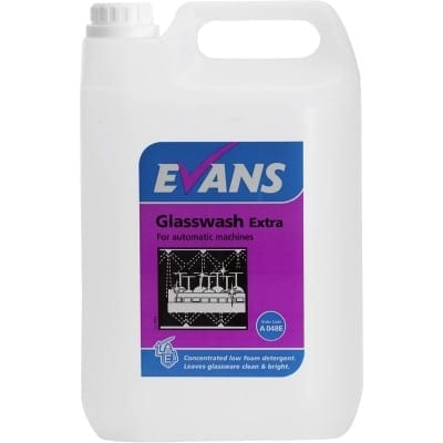 Evans - GLASSWASH EXTRA - 5 litre
