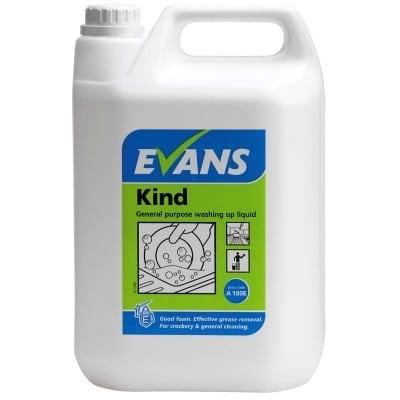 Evans - KIND Washing Up Liquid - 5 litre