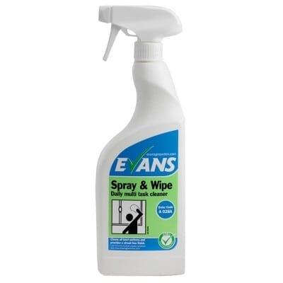 Evans - SPRAY & WIPE Multi Task - 750ml Trigger