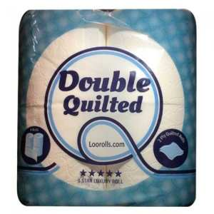 Double Quilted 100% Recycled Toilet Rolls - 2ply White - 40 Pack