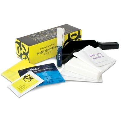 Biohazard Body Fluid Kit from Loorolls.com