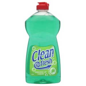 clean and fresh washing up liquid from loorolls.com