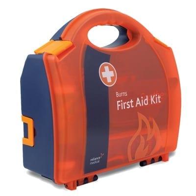 Fully Stocked First Aid Burns Kit form Loorolls.com