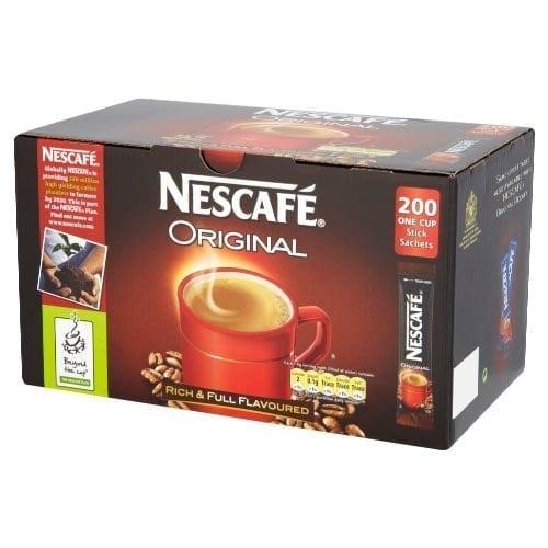 Nescafe Original Coffee Sticks - Box 200
