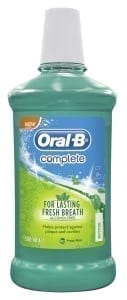 Loorollscom Oral B Mouthwash - Complete - 6 x 500ml