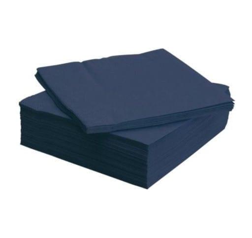 Loorolls.com Midnight Blue 40cm 2ply Napkins