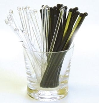 Loorolls.com Flatball Cocktail Stirrers 1000