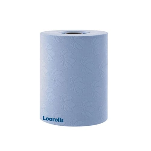 En Motion Tork Blue Hand Towel Roll 1ply 143m (Pack 6)
