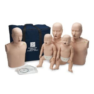 Prestan Professional Training Manikin Family with CPR Monitors/Lung Bags